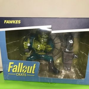 Fallout Crate Fawkes Vinyl Figure!NEW IN BOX!